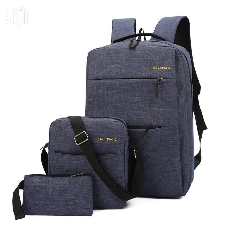 3in 1 Anti Thef Bag With USB CHARGING
