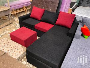 Lovely Blended Sofa Set❤🖤. Free Delivery   Furniture for sale in Greater Accra, Akweteyman