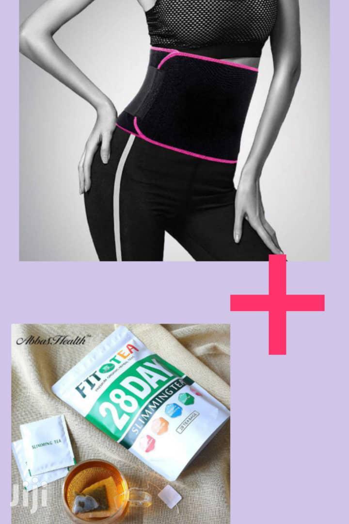Slimming Tea And Tummy Belt