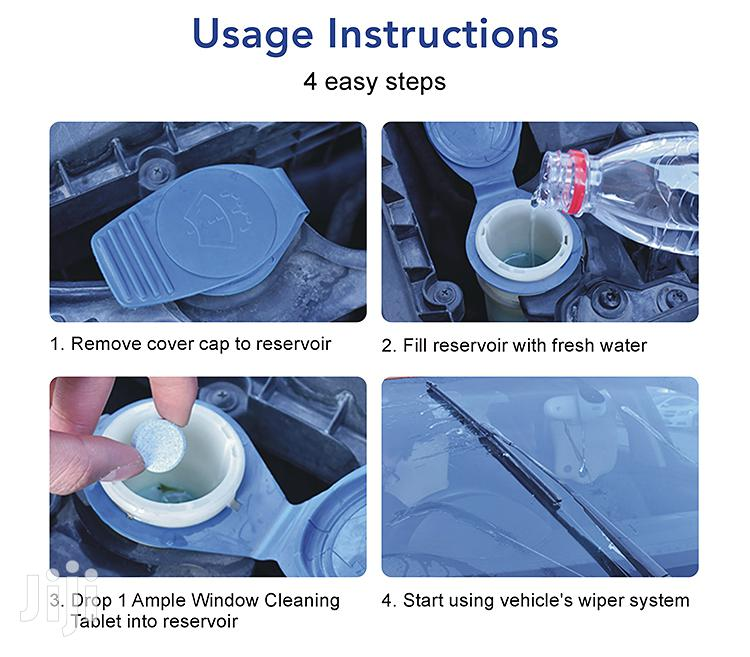 New Formula Windscreen/Glass Cleaning Tablets (5x Tablets) | Vehicle Parts & Accessories for sale in Cantonments, Greater Accra, Ghana