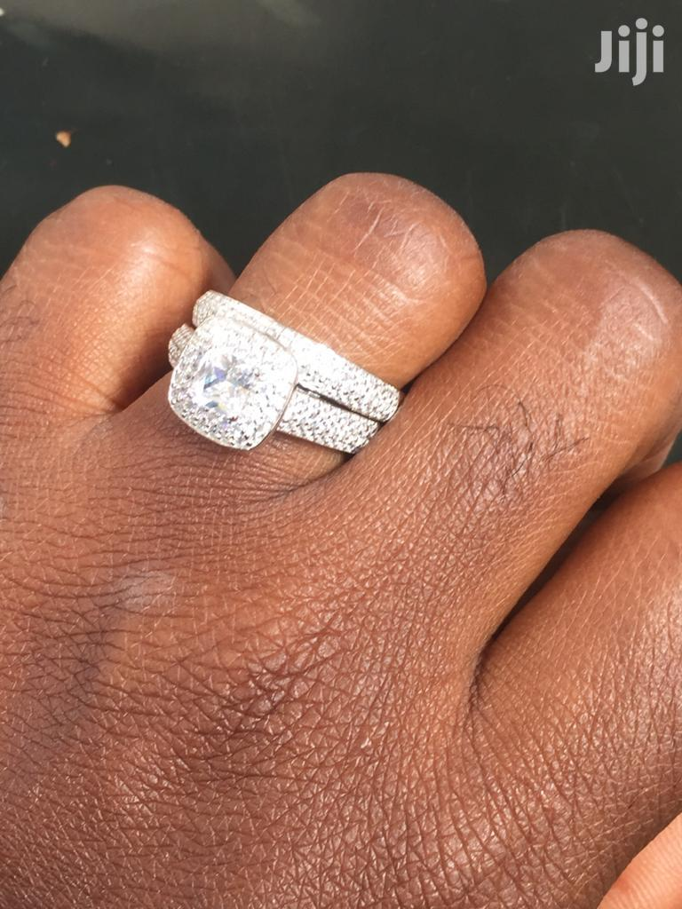 1.6 Carats Sterling Silver And Tungsten Carbide Rings | Jewelry for sale in Kumasi Metropolitan, Ashanti, Ghana