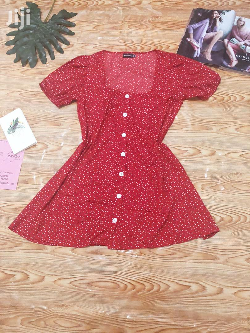 Archive: Red Polka Dots Dress
