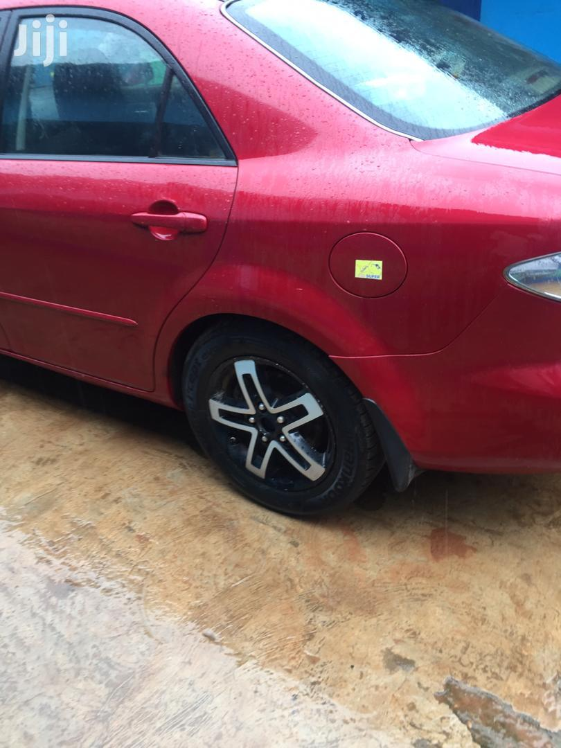 Archive: Mazda 6 2006 2.0 Exclusive Automatic Red