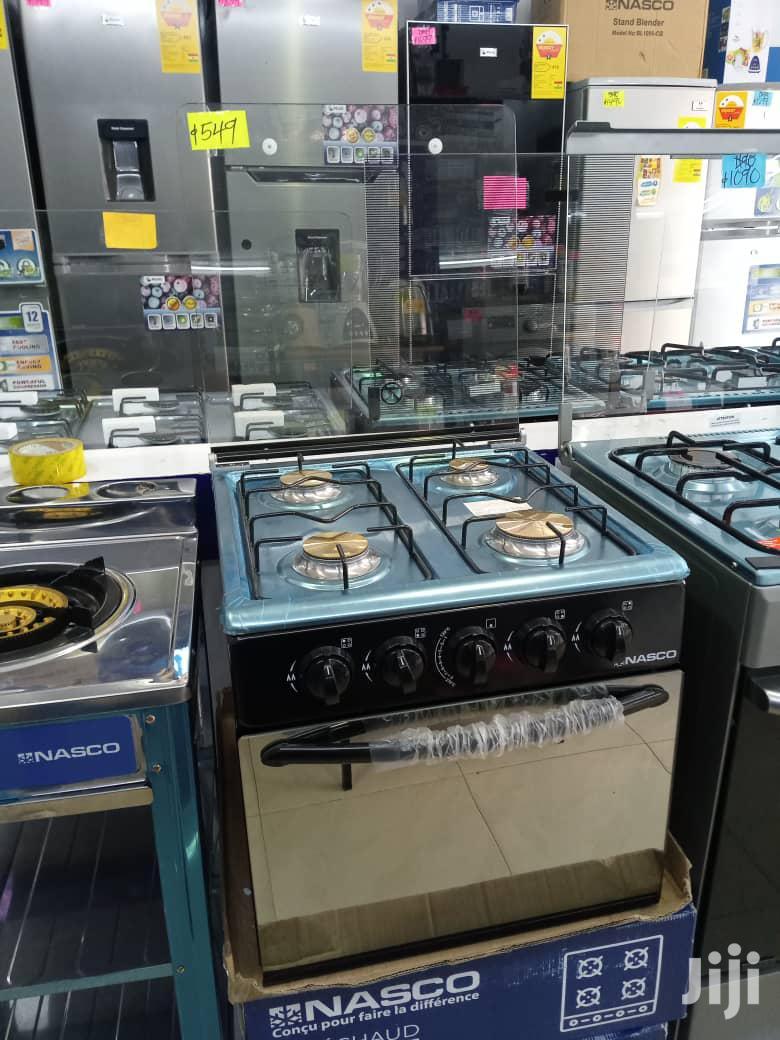 Nasco 4 Burner Mini Oven Black [Gcnas-50mo]