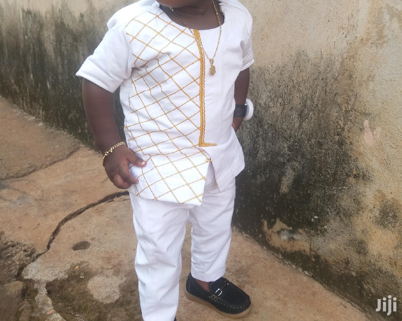 Children's African Wear With Works