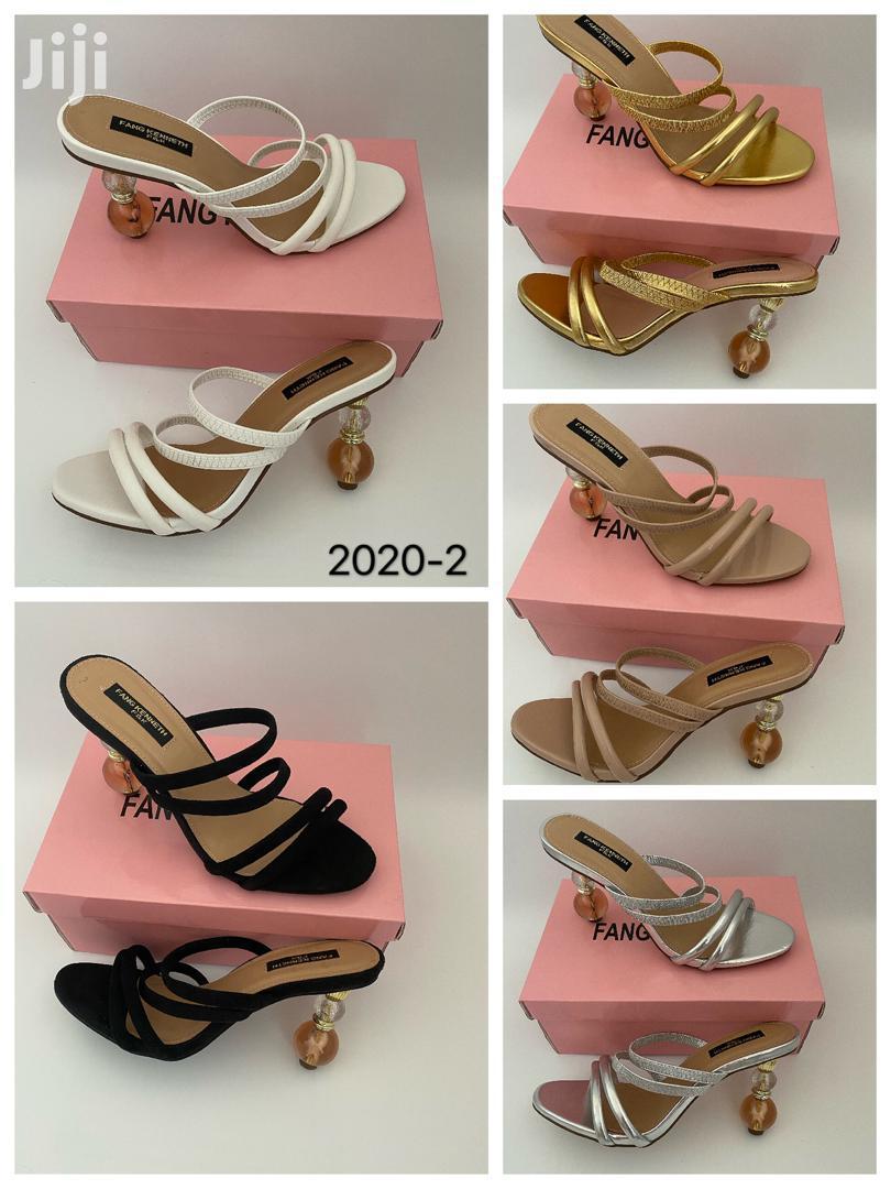 Classic Ladies Slippers Heel