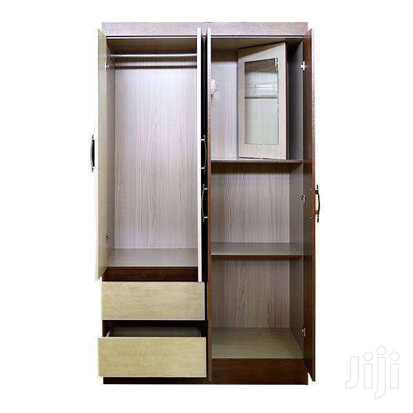 WOODEN WARDROBE 4 DOOR & 2 DRAWERS | Furniture for sale in Adenta Municipal, Greater Accra, Ghana
