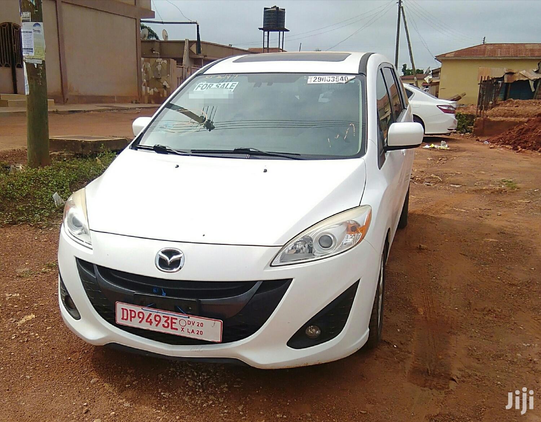 Mazda 5 2012 2.5 Sport Automatic White