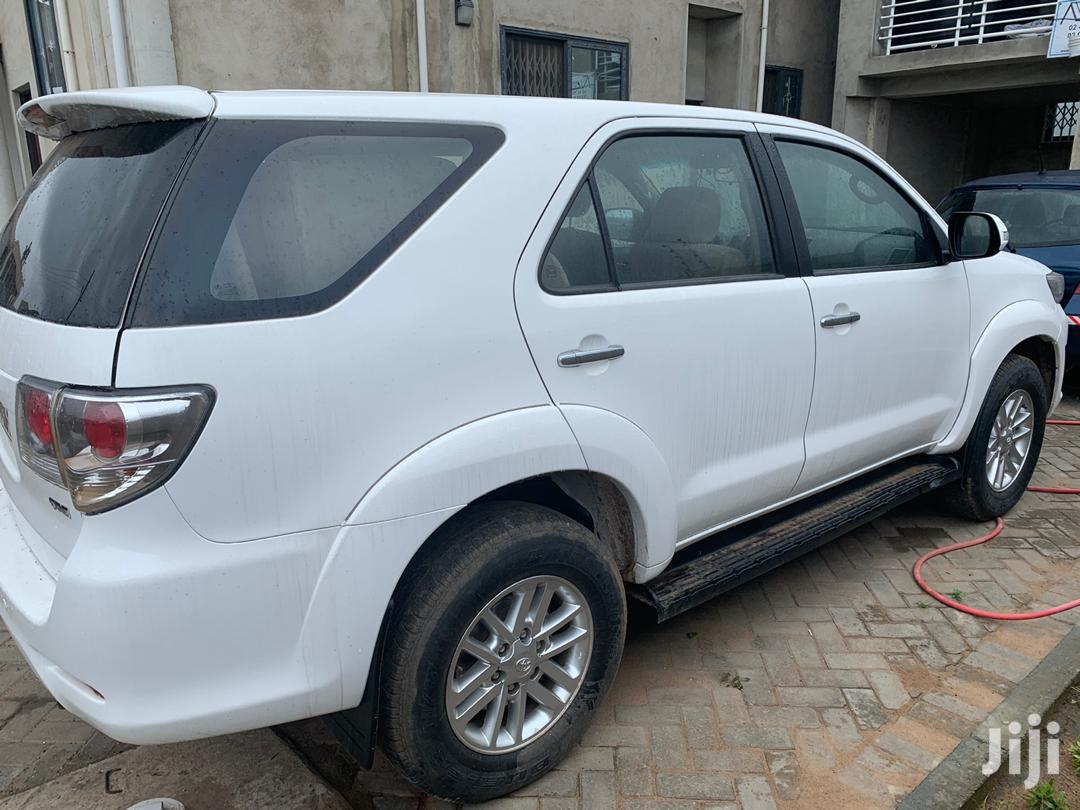 Toyota Fortuner 2012 White | Cars for sale in Accra Metropolitan, Greater Accra, Ghana