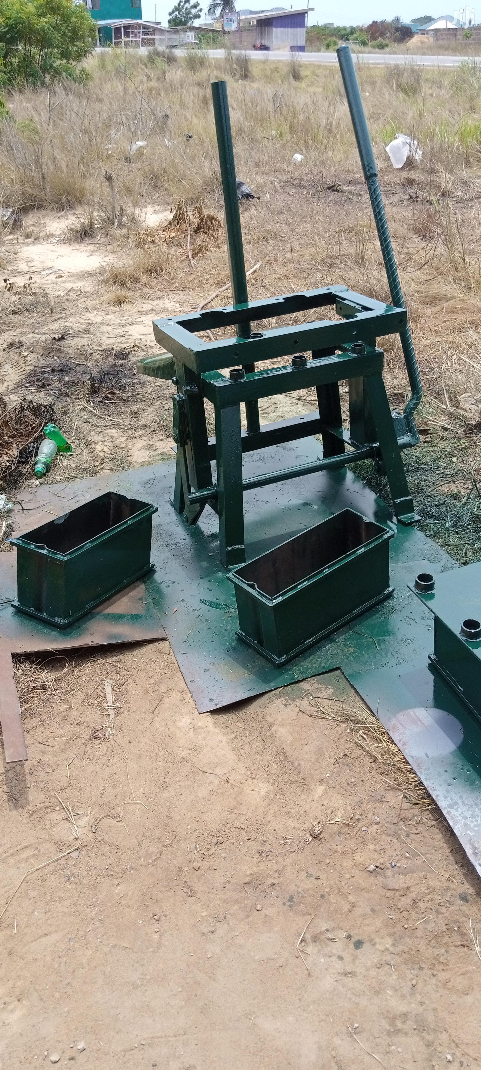 Archive: Automatic Electric Concrete Block Machine