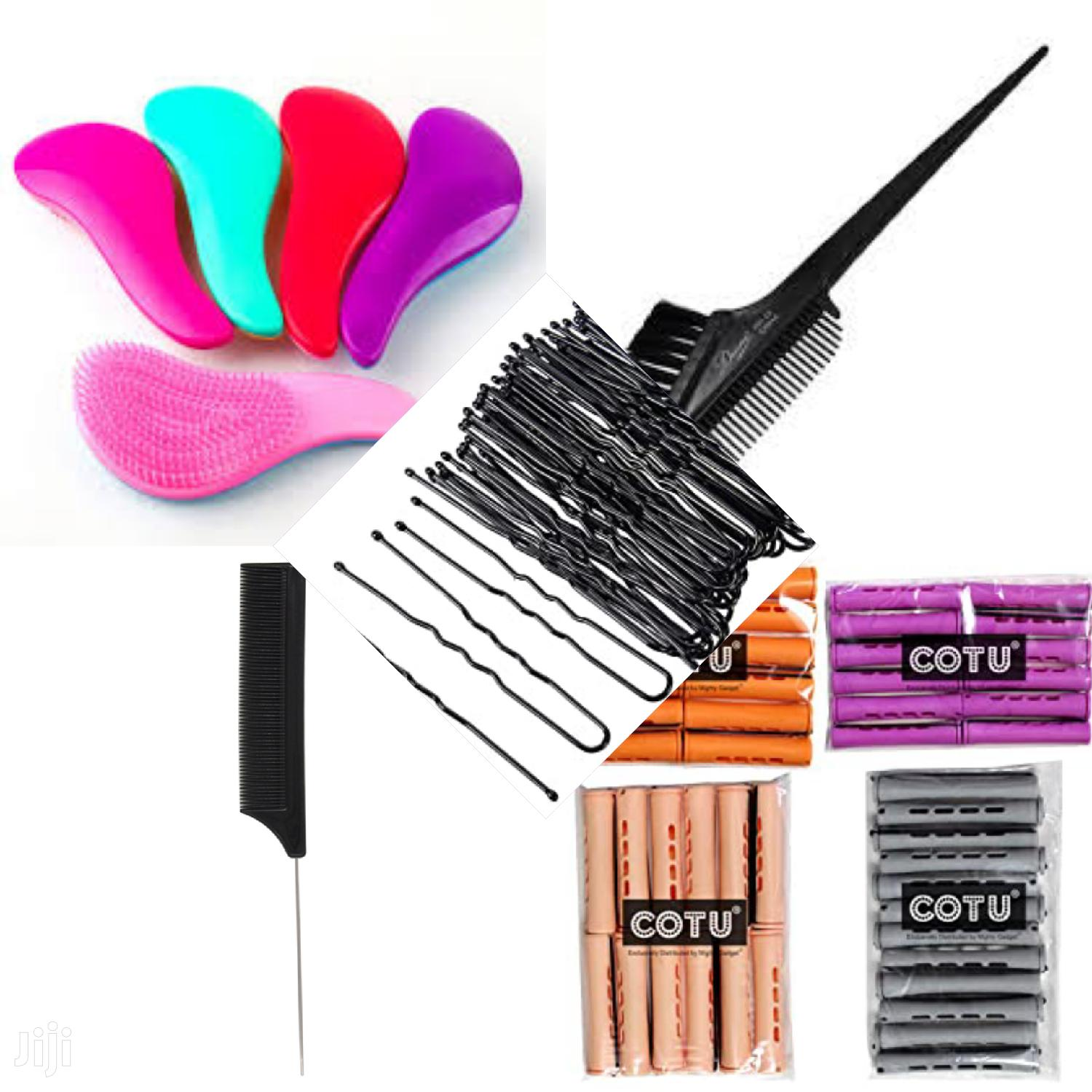 Detangling Brush,Perm Rod, Styling Comb And More