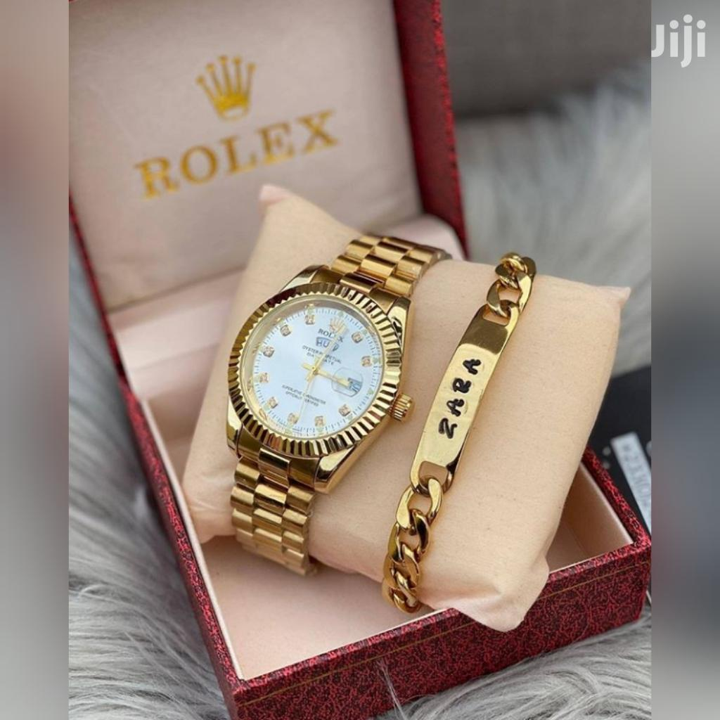 Rolex Watch With Customize Bracelet