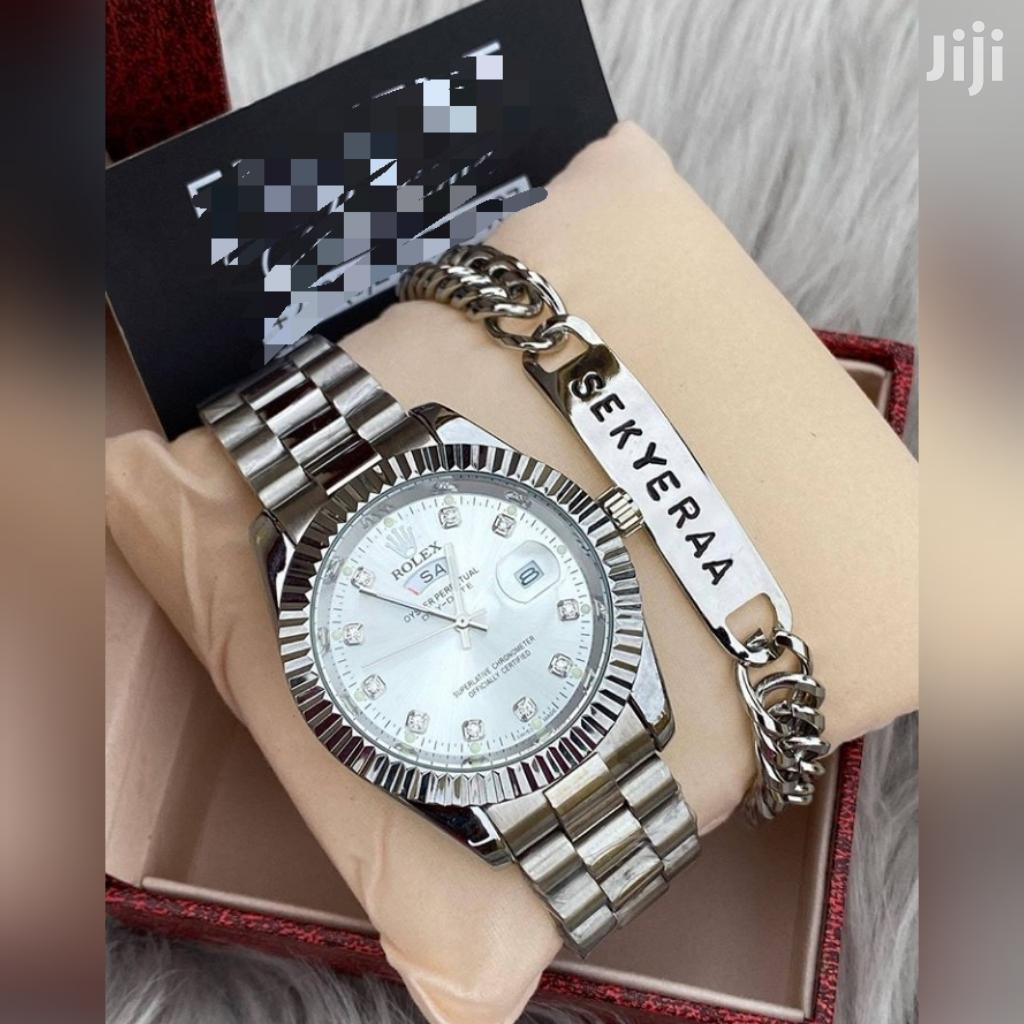 Rolex Watch With Customize Bracelet | Watches for sale in Achimota, Greater Accra, Ghana