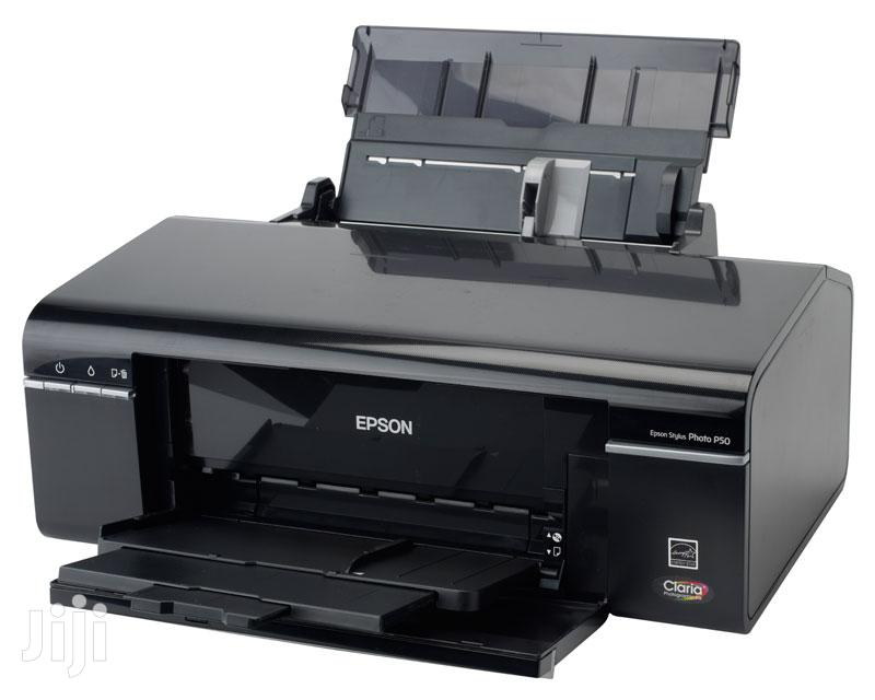 AA A0 EPSON Photo Graphic Design Printers With Ciss | Printers & Scanners for sale in Accra new Town, Greater Accra, Ghana