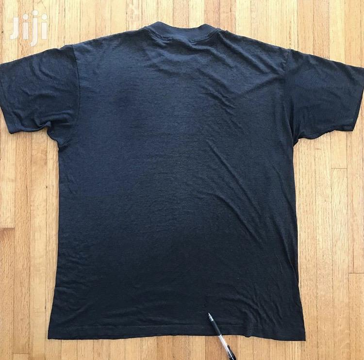 Cotton Gym T Shirt Plain Black | Clothing for sale in East Legon, Greater Accra, Ghana