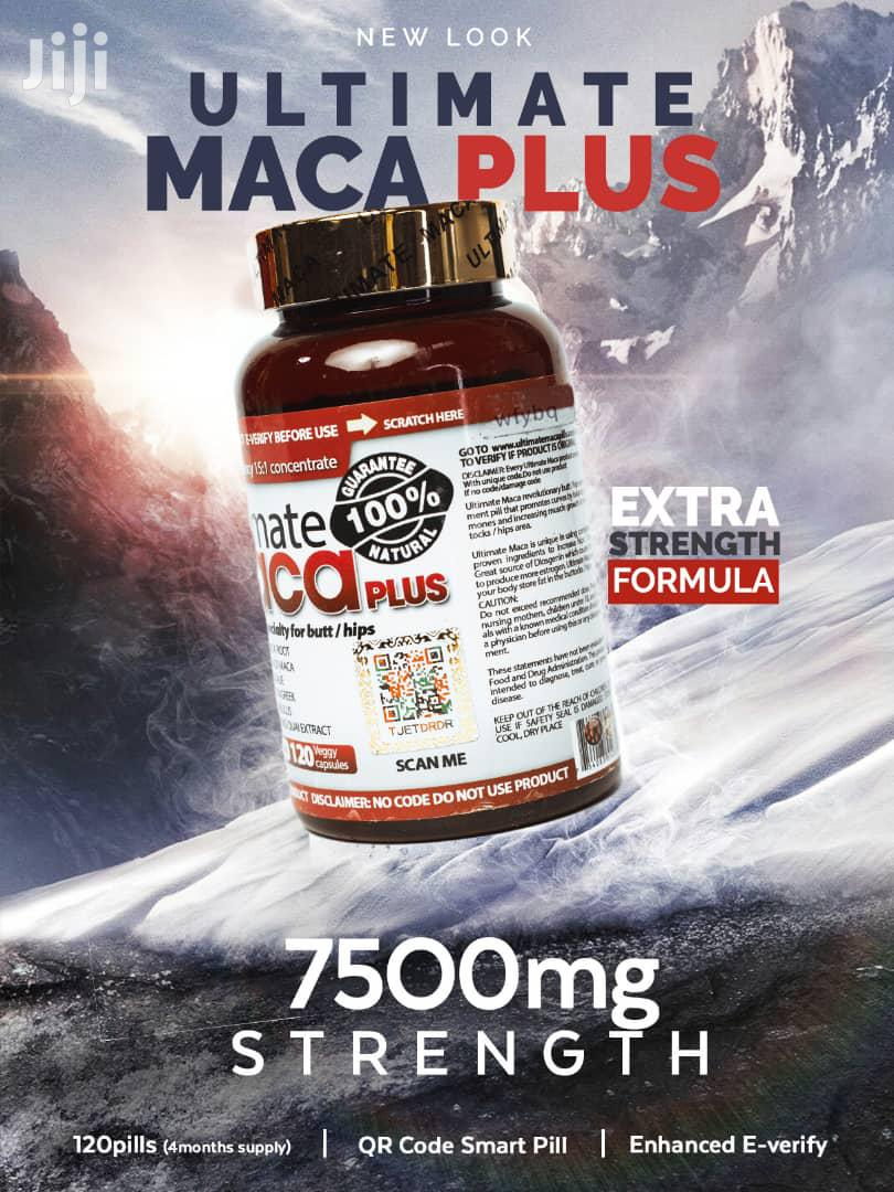 Ultimate Maca Plus (7500mg) 120 Days Capsules | Vitamins & Supplements for sale in North Kaneshie, Greater Accra, Ghana
