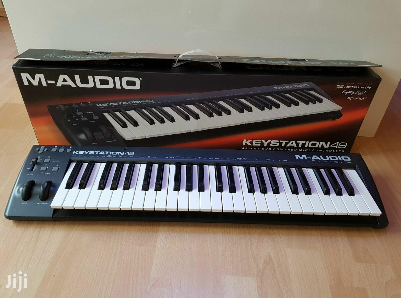 Archive: M Audio Keystation Midi Keyboard 49