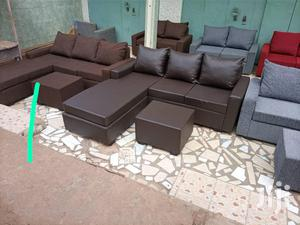 New Set of Leather Sofa Free Delivery ❤🖤   Furniture for sale in Greater Accra, Korle Gonno