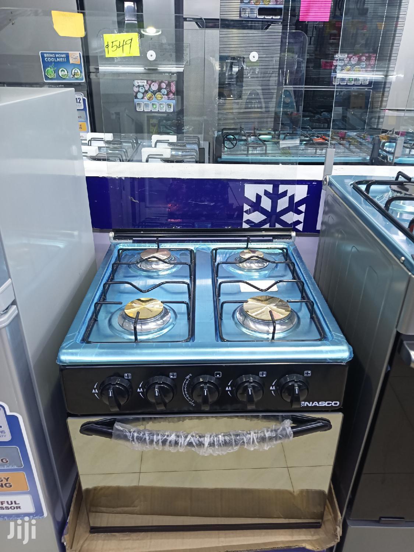NASCO 4 Burner With Mini Oven