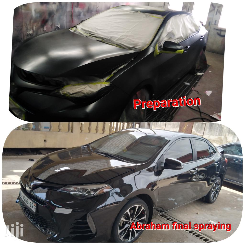 Abraham Body Works And Spraying | Automotive Services for sale in Achimota, Greater Accra, Ghana