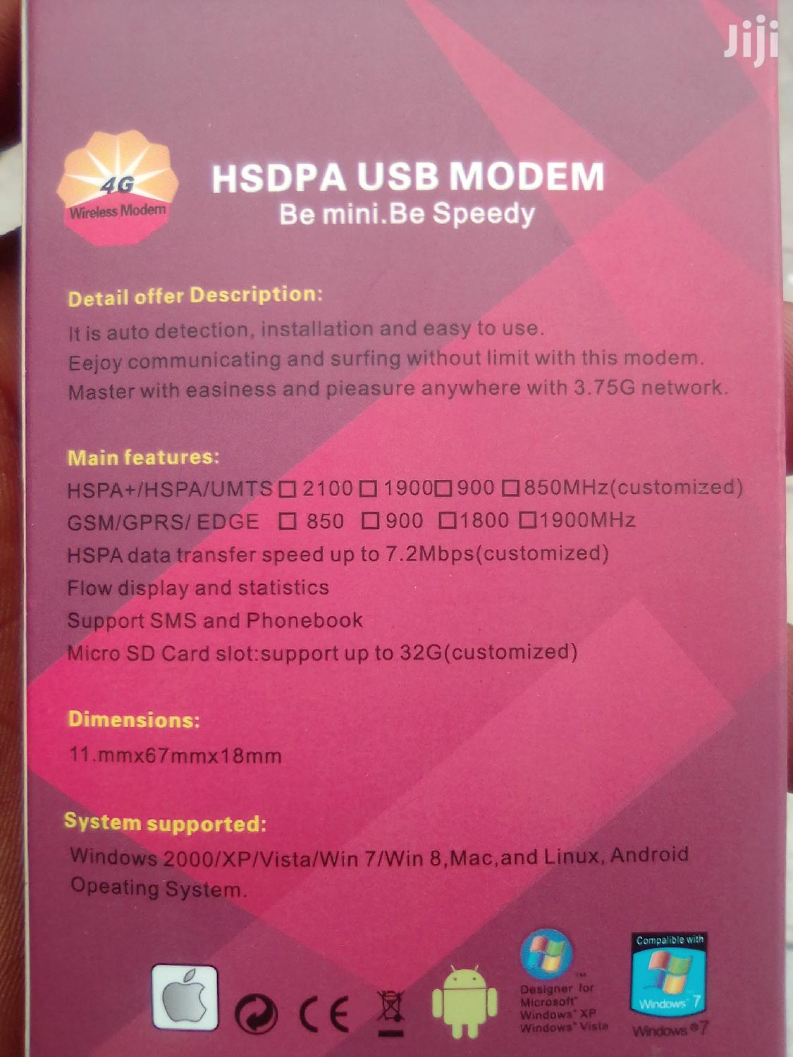 Universal Wireless Modem 3.75G Network | Networking Products for sale in Labadi-Aborm, Greater Accra, Ghana