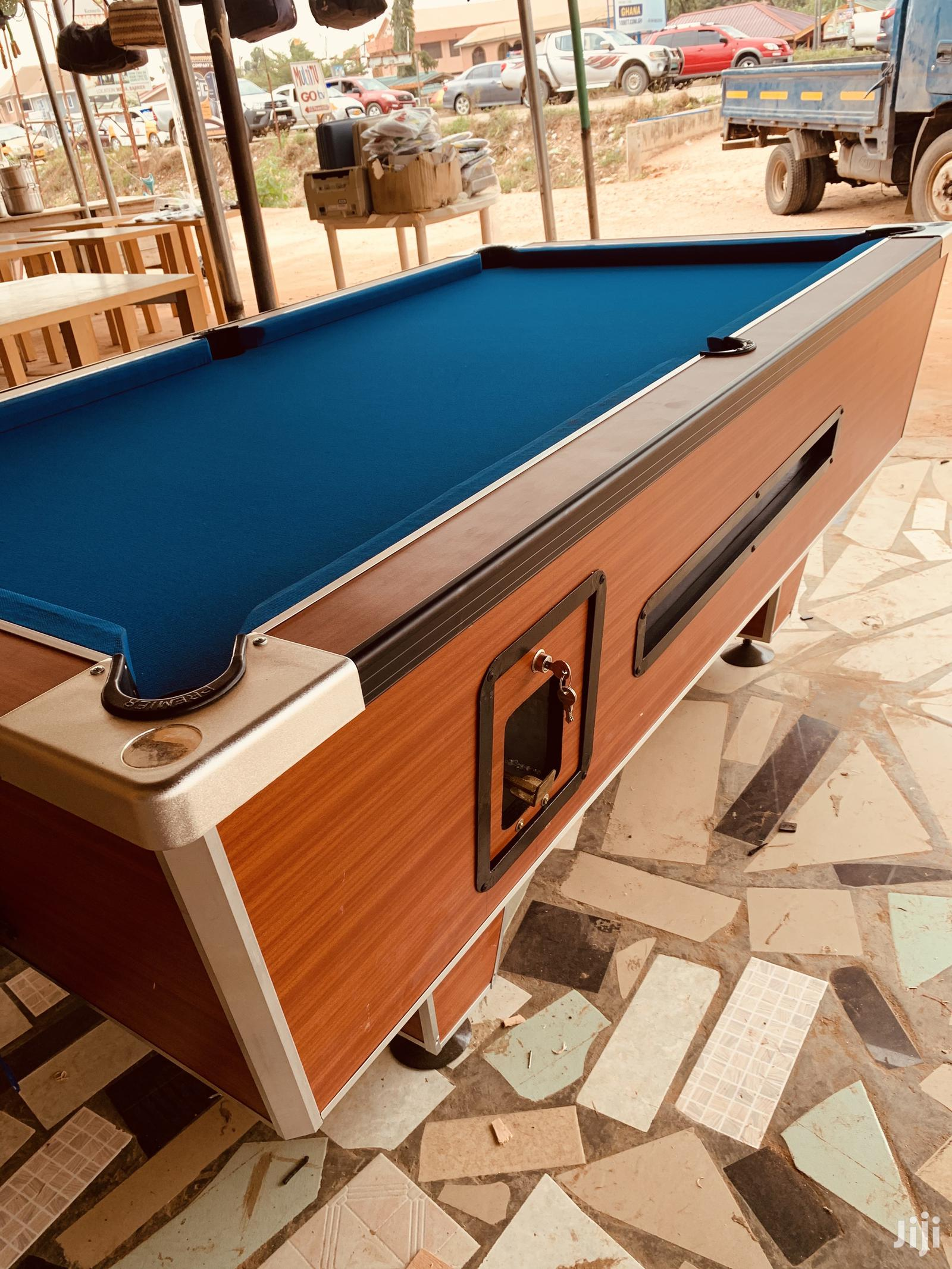 Coin Operated Marble Snooker