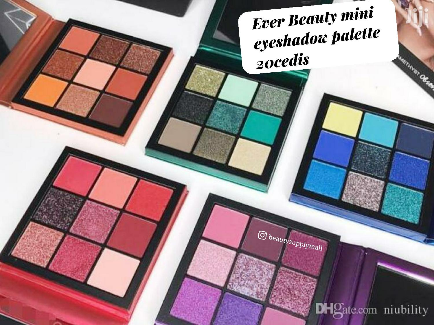 Archive: Ever Beauty Mini Eyeshadow Palette