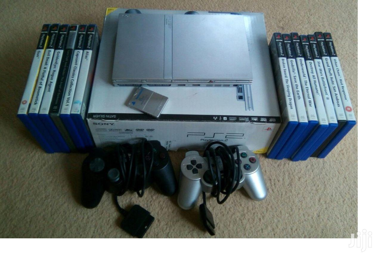 Ps2 Game Set   Video Game Consoles for sale in Achimota, Greater Accra, Ghana