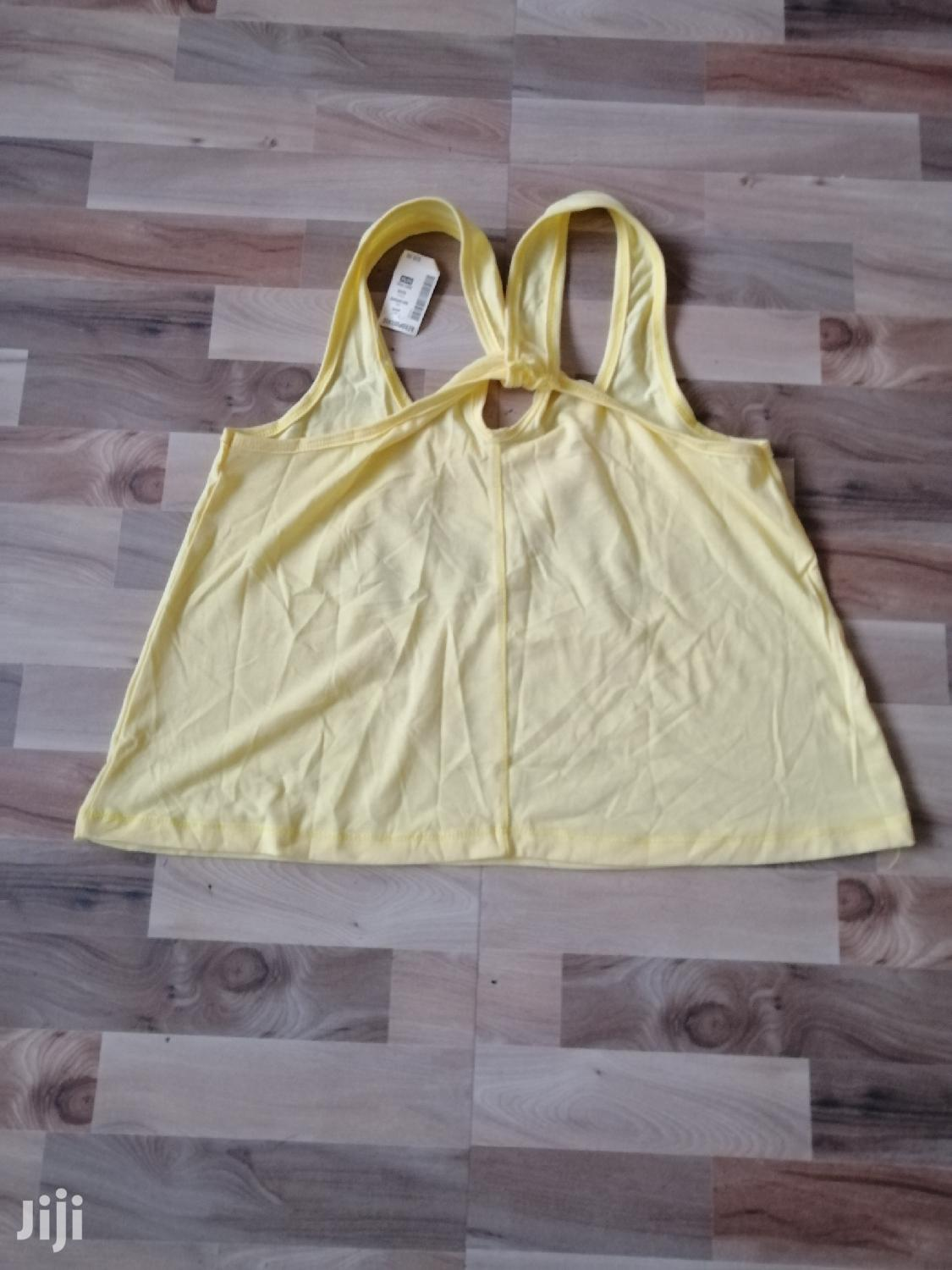 Yellow Crop Top | Clothing for sale in Lartebiokorshie, Greater Accra, Ghana