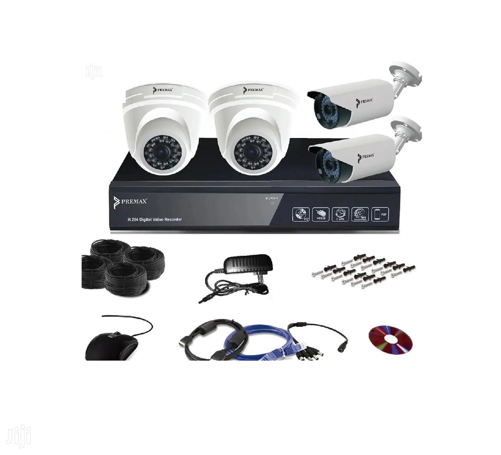 5mp CCTV 4 Channel Kits
