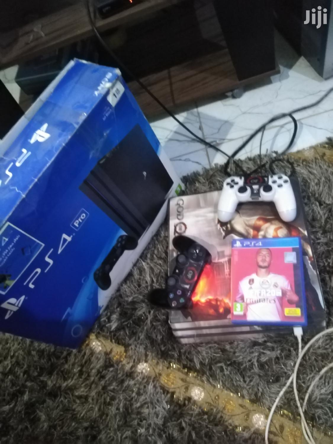 Archive: Ps4 Pro 1TB 2pads N Fifa 20 N COD Ghost