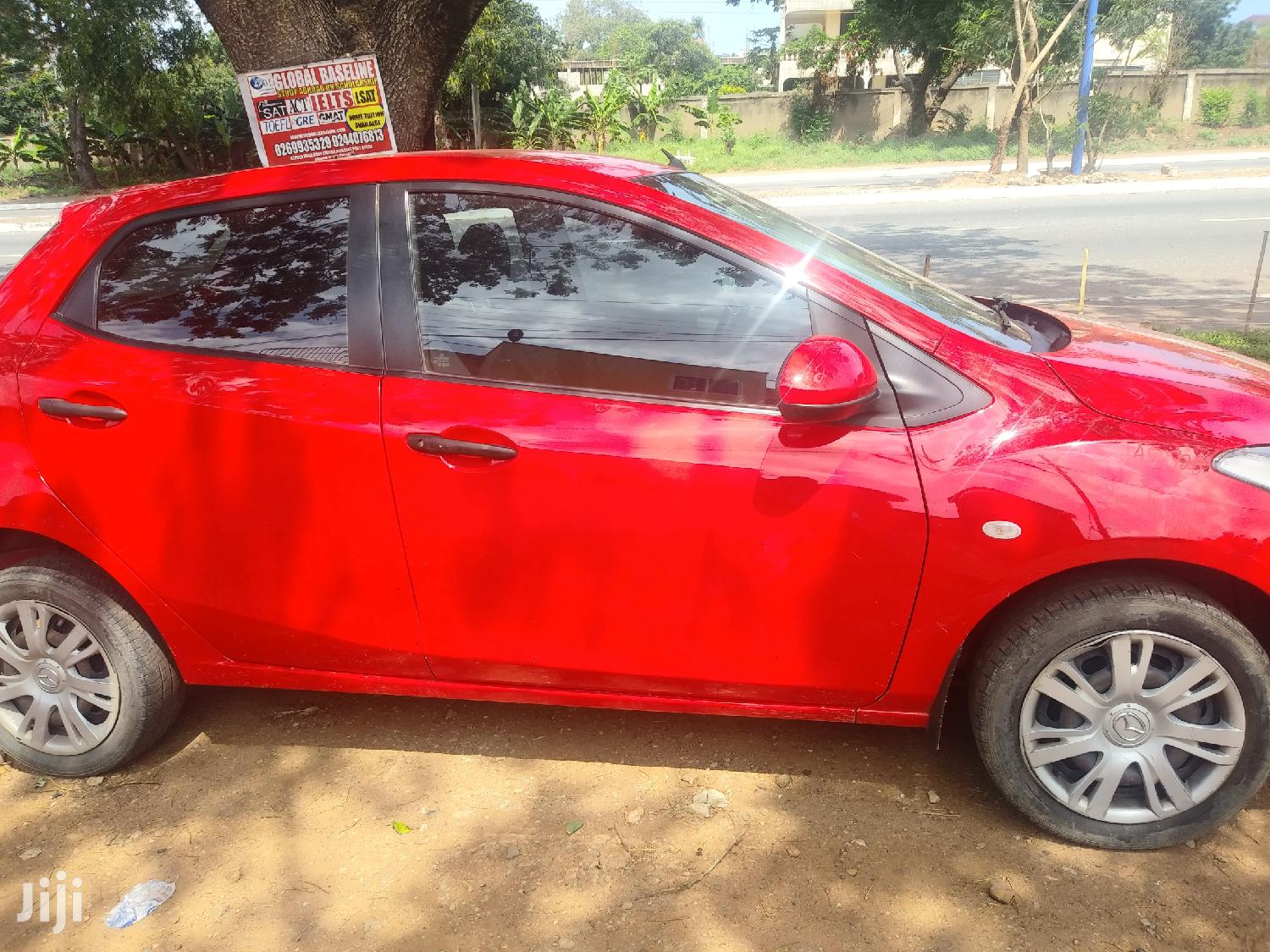 Mazda 2 1.6 Exclusive 2010 Red | Cars for sale in Nima, Greater Accra, Ghana