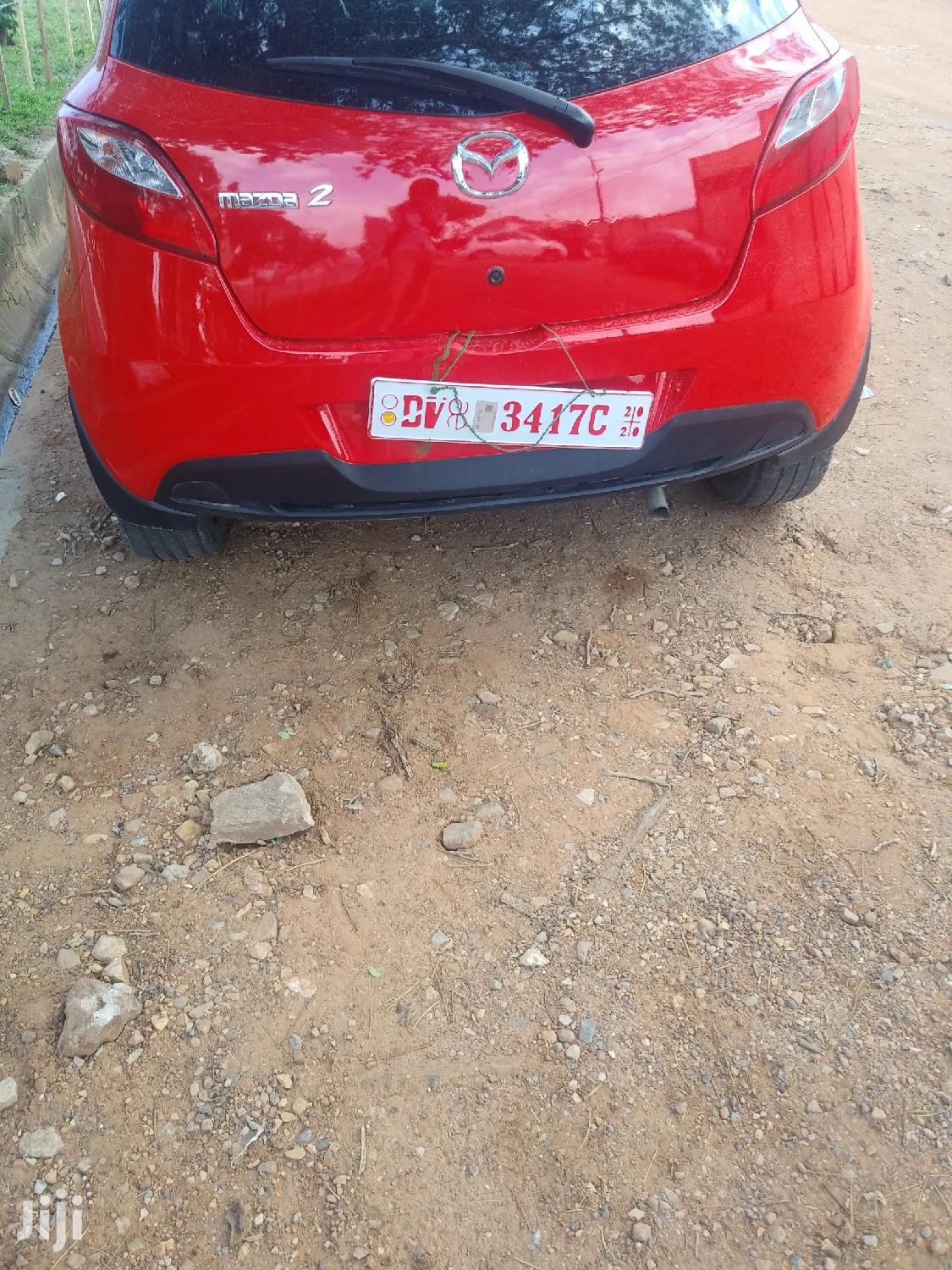 Mazda 2 1.6 Exclusive 2010 Red