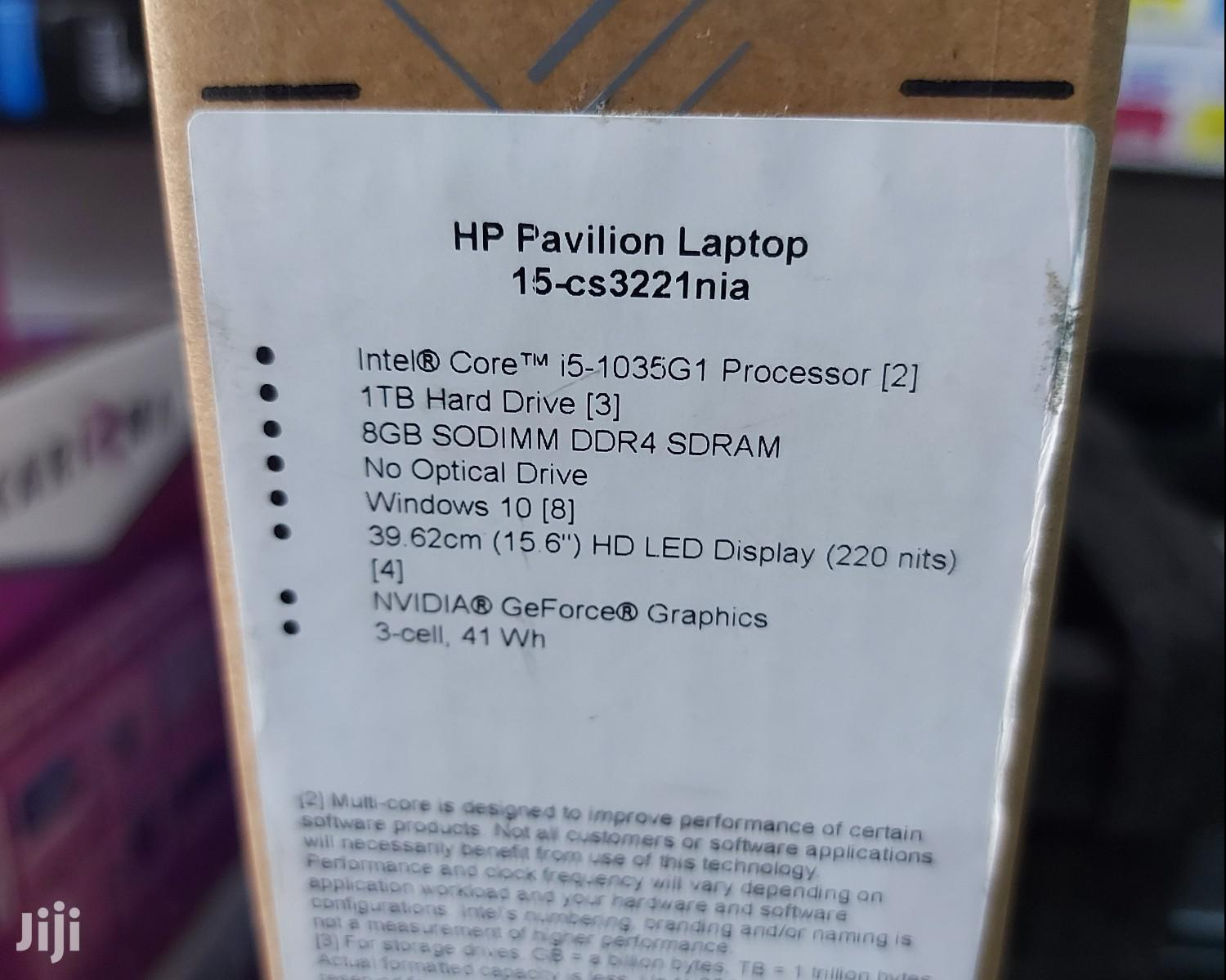 New Laptop HP Pavilion 15 8GB Intel Core i5 HDD 1T