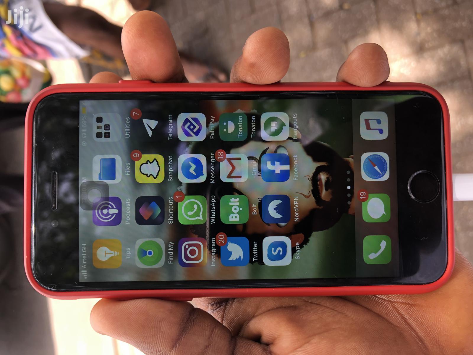 Apple iPhone 7 128 GB Black   Mobile Phones for sale in Kumasi Metropolitan, Ashanti, Ghana