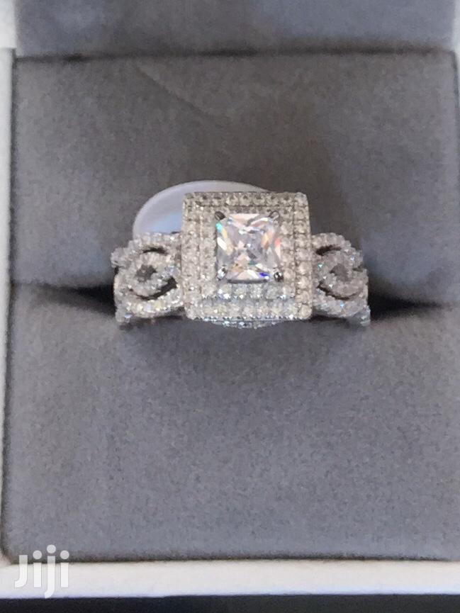 Genuine 925 Sterling Silver Wedding Rings