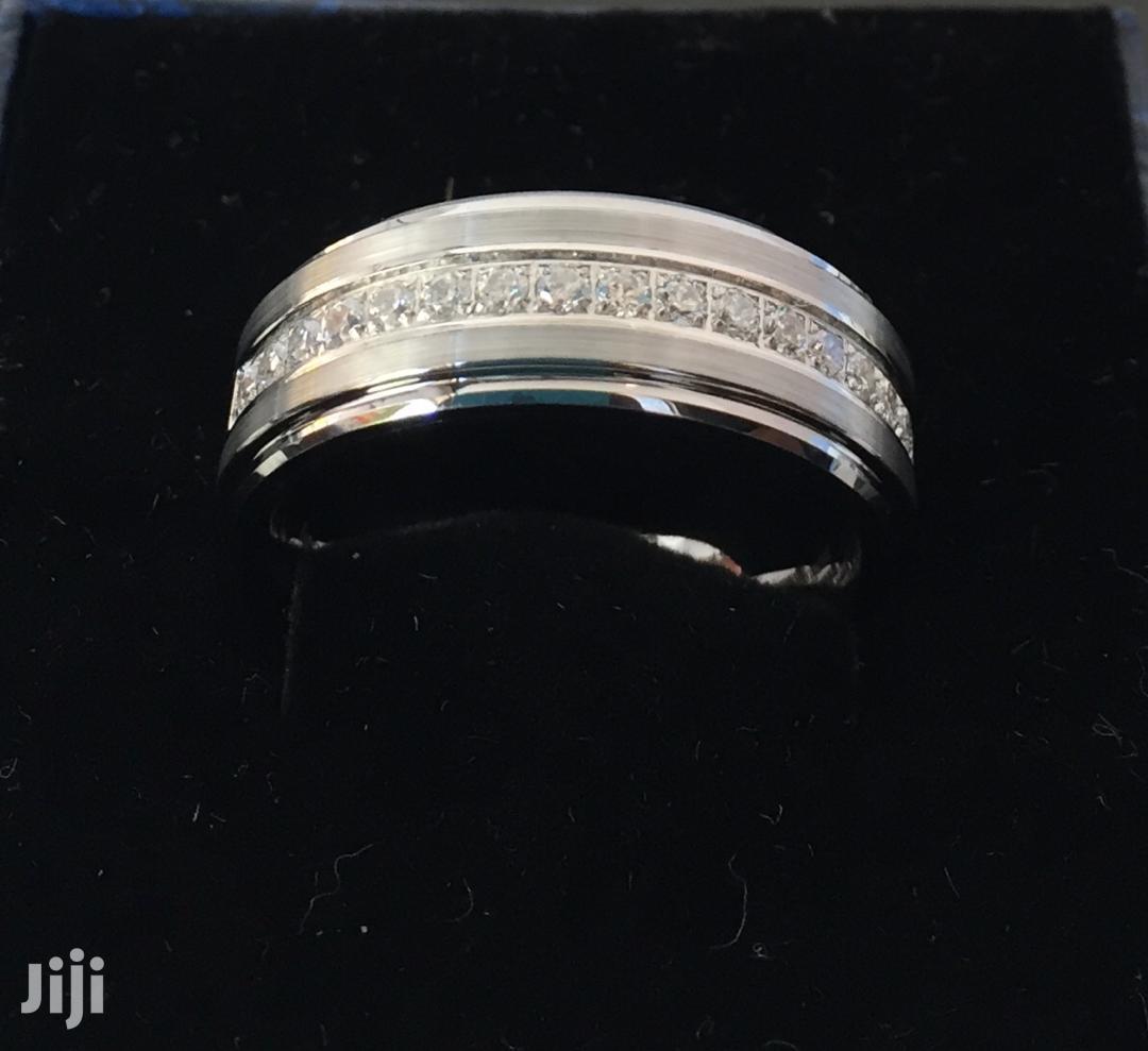 Scratch Proof Non Fade Tungsten Carbide Men Wedding Ring