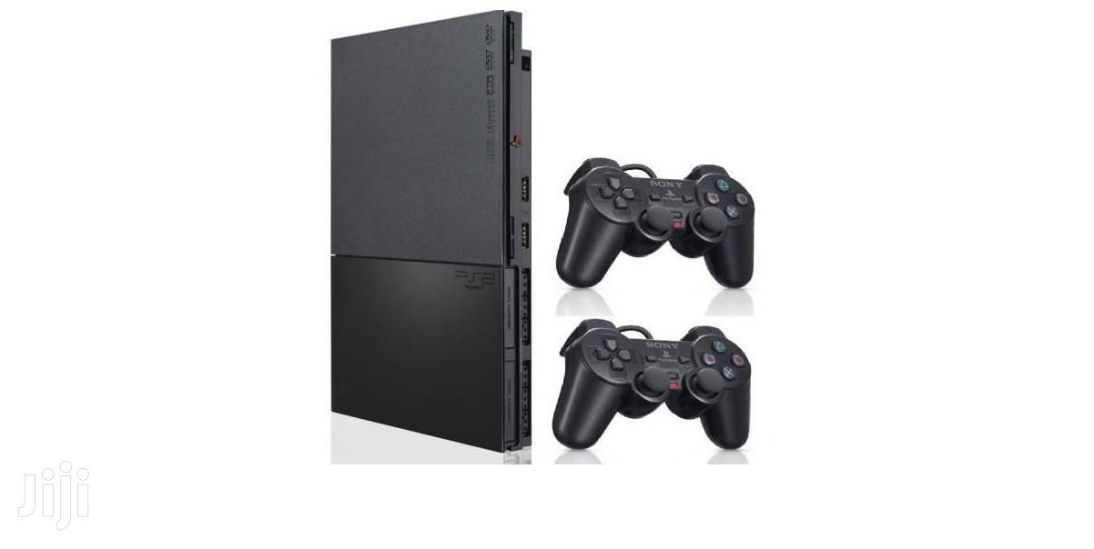 Complete Set Ps2 Playstation Slim | Video Game Consoles for sale in Tema Metropolitan, Greater Accra, Ghana