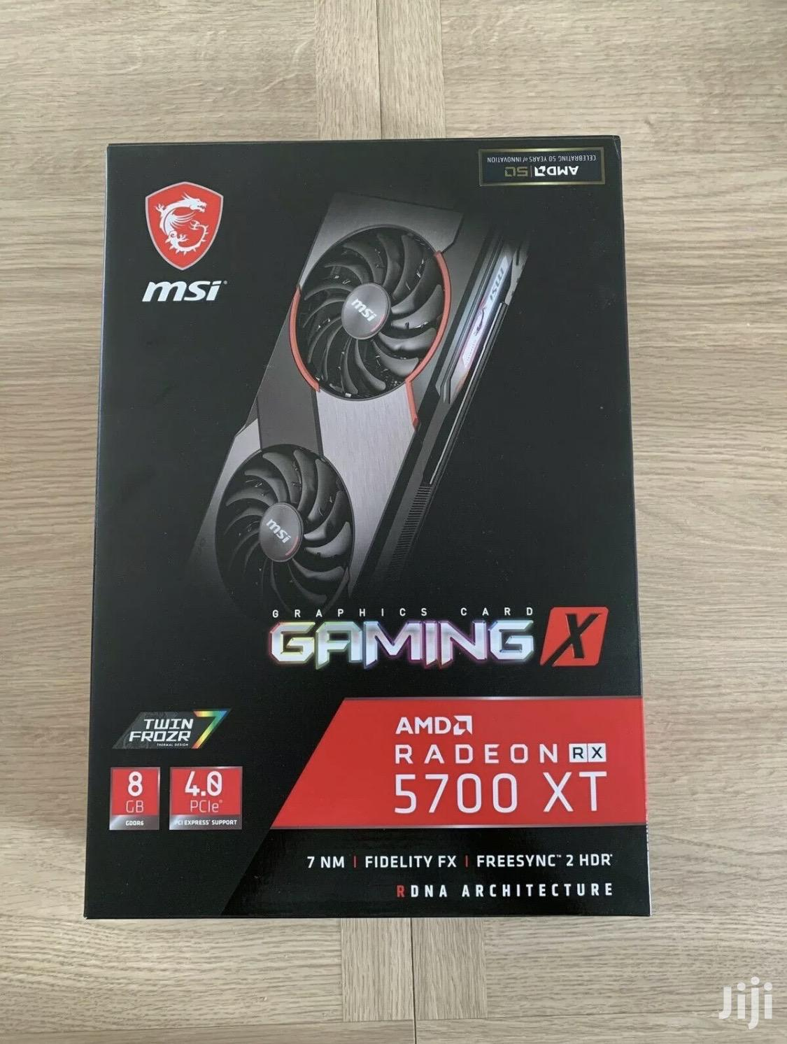 Msi Rx 5700 XT Gaming X 8gb Graphic Card | Computer Hardware for sale in South Kaneshie, Greater Accra, Ghana