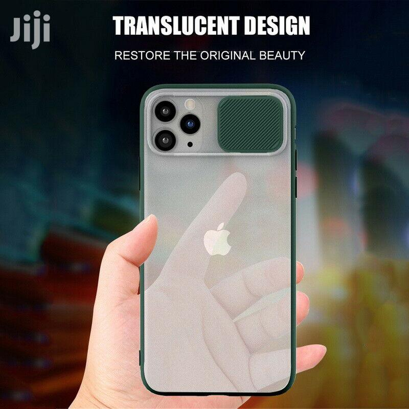 11 Pro Max Camera Protect Case Matte Clear Cover | Accessories for Mobile Phones & Tablets for sale in Accra Metropolitan, Greater Accra, Ghana