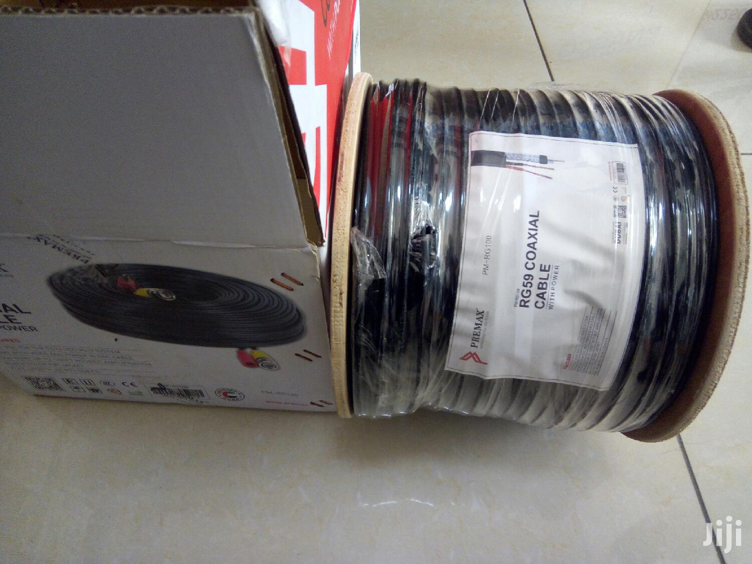 100mtrs Coaxial Cable With Power