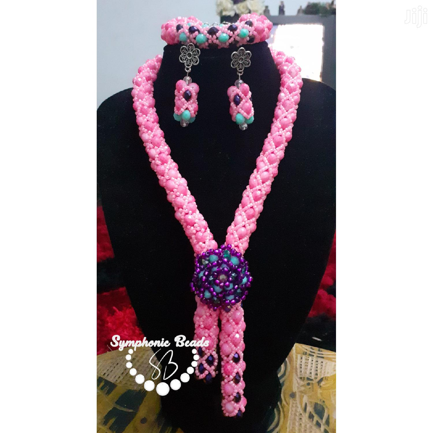 Beaded Necklace Set | Jewelry for sale in Madina, Greater Accra, Ghana