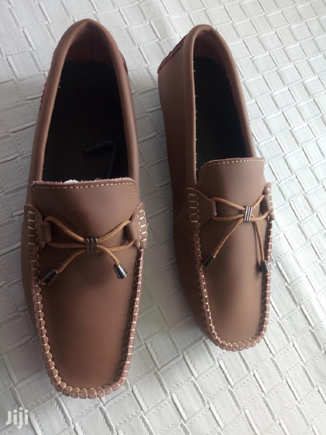 Polo Men's Loafers Brown-sz 44
