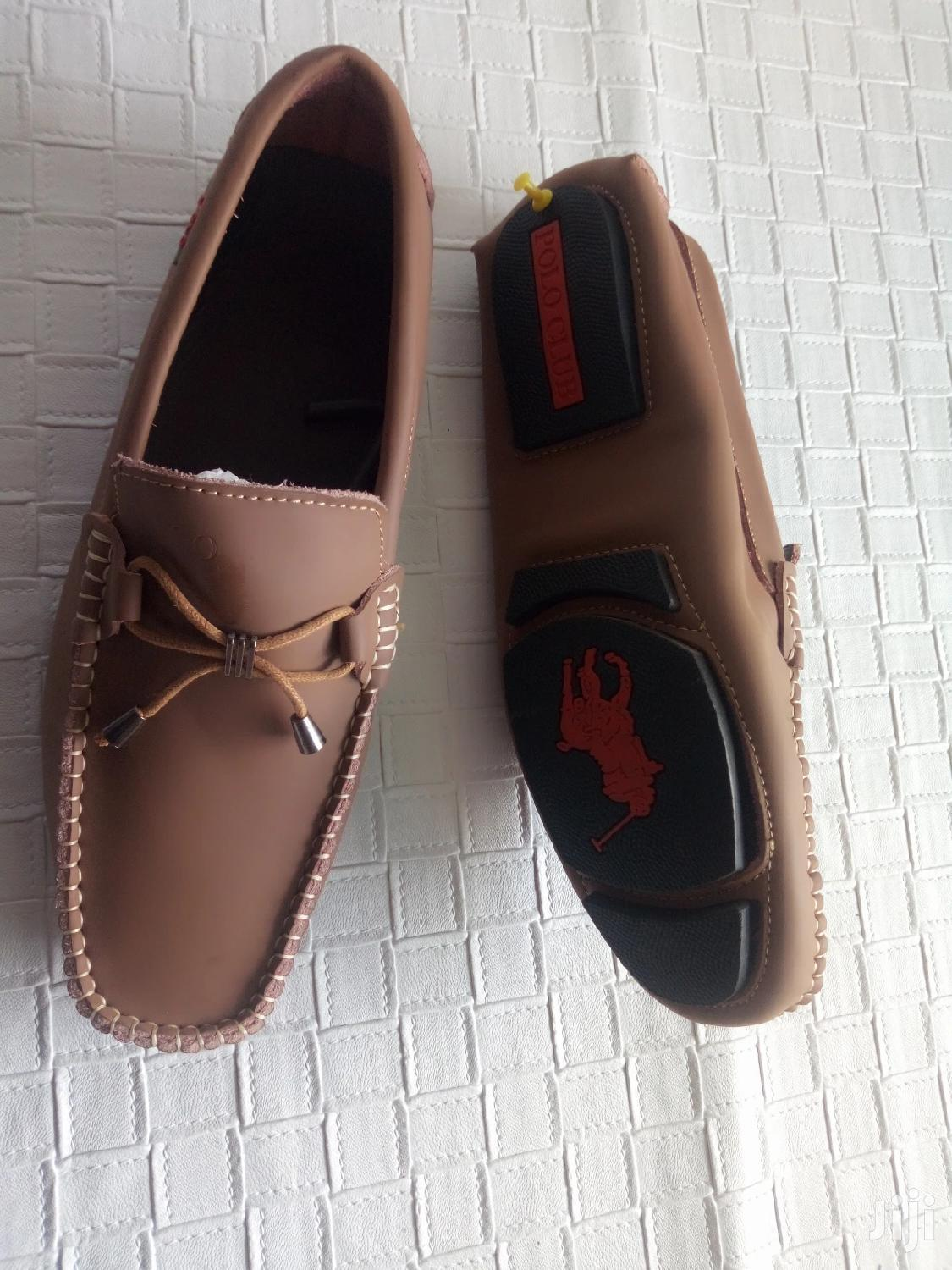 Polo Men's Loafers Brown-sz 44 | Shoes for sale in Ga East Municipal, Greater Accra, Ghana