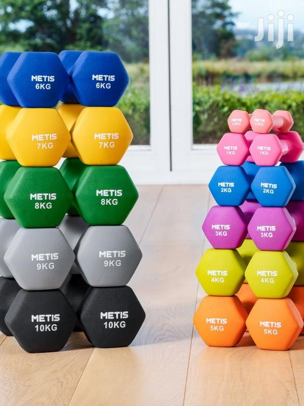 Dumbell (0.5kg and Above)   Sports Equipment for sale in Accra Metropolitan, Greater Accra, Ghana