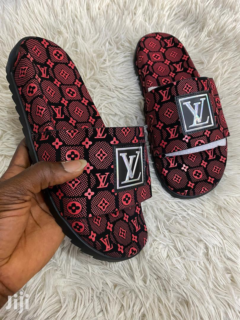 Nice L V Slippers | Shoes for sale in Ashaiman Municipal, Greater Accra, Ghana