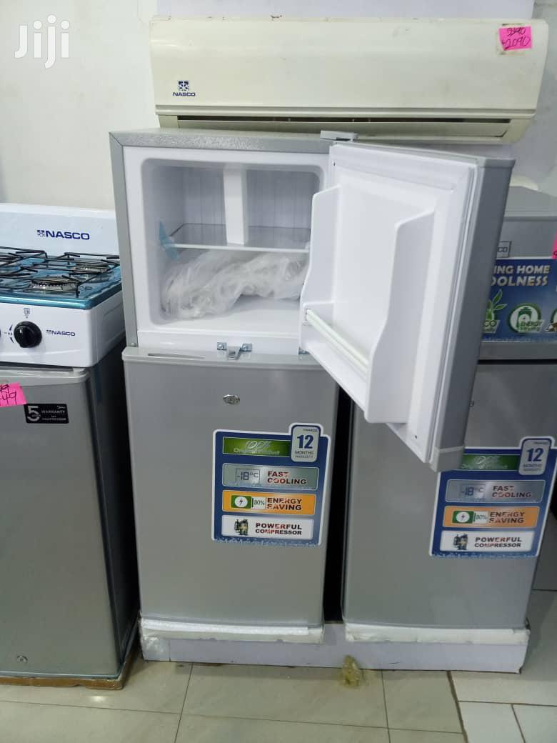 Archive: Nasco NASF2-14 109L Double Door Top Freezer Refrigerator