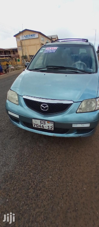 Mazda MPV 2003 2.3 Blue