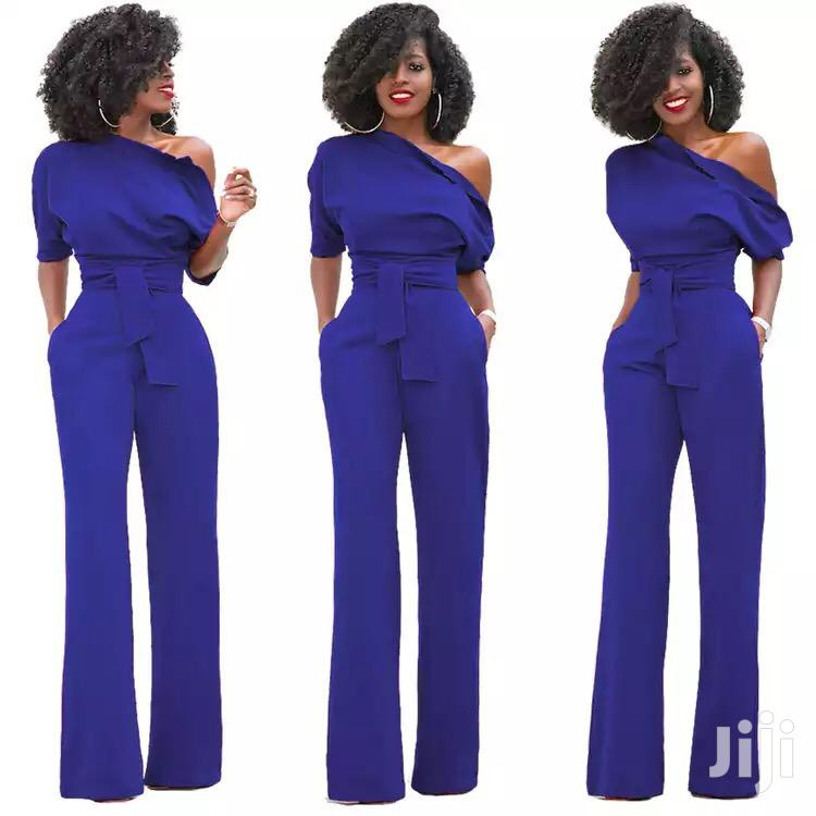 One Shoulder Women'S Jumpsuit