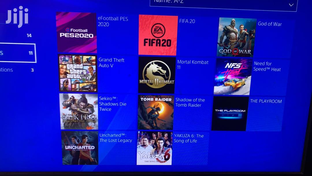 Ps4 With 10 Games | Video Game Consoles for sale in Accra Metropolitan, Greater Accra, Ghana